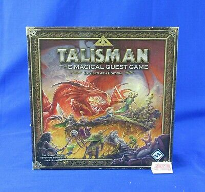 Games Workshop Talisman The Magical Quest Game Revised 4th Edition