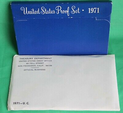 1971 Proof and Uncirculated Annual US Mint Coin Sets PDS 15 Coins