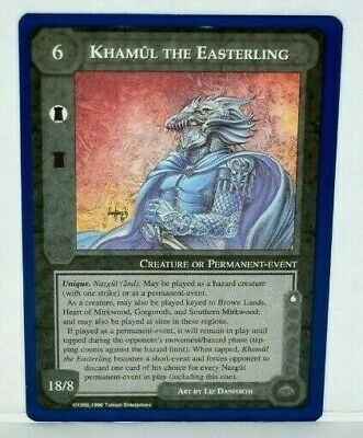 MECCG Middle-earth The One Ring The Wizards Unlimited TWUL Middle earth LOTR NM