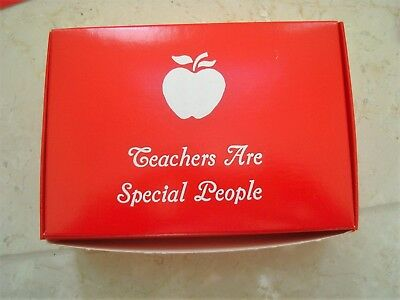 Set Of 5 Teachers Are Special People Small Gift Box **Add Candy Etc**