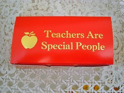 Set Of 5 Teachers Are Special People Larger Gift Box **Add Candy Etc**