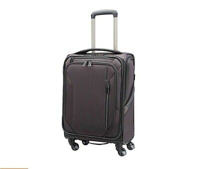 New American Tourister GO 2 Softside CarryOn Spinner Luggage Mineral Grey