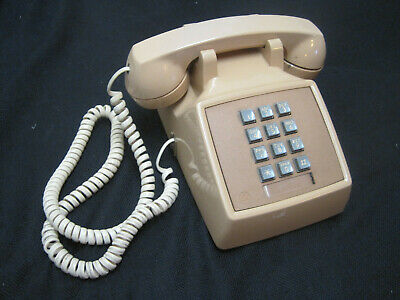 Western Electric Push Button Bell System Desk Telephone AT&T Vintage