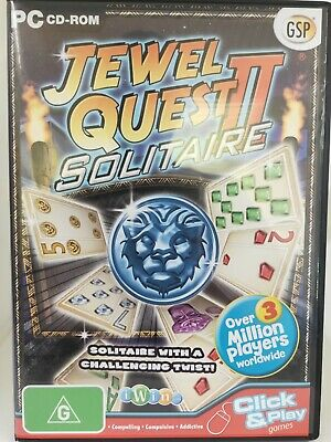 Jewel Quest 2 - Solitaire - PC CD-ROM