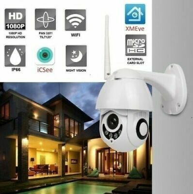 Telecamera Full Color Esterna Motorizzata Ir Wifi Ptz Zoom 1080P Hd Ip Ir Camera