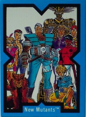 X-Men Trading Cards | X-Force | Full Set 90 Cards | Marvel 1991 Comic Images