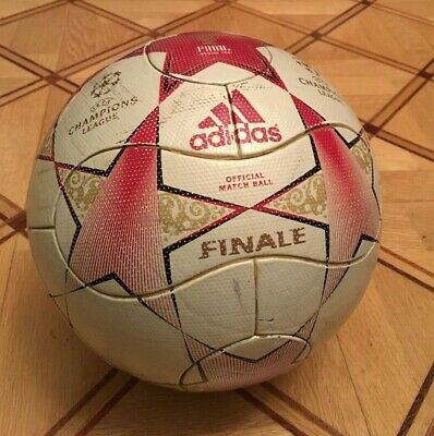 Adidas used Matchball Finale Moscow 2008 Champions League OMB.Spielball  size 5