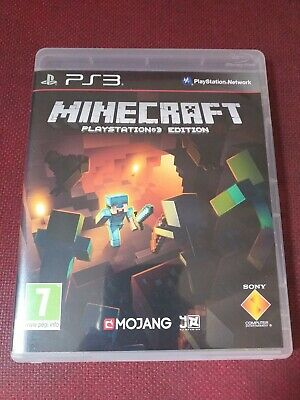 Minecraft PlayStation 3 Edition Very Good Condition