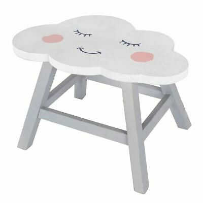 Children's Wooden Cloud Stool Seat ~ Baby Nursery Childs Bedroom Playroom Chair