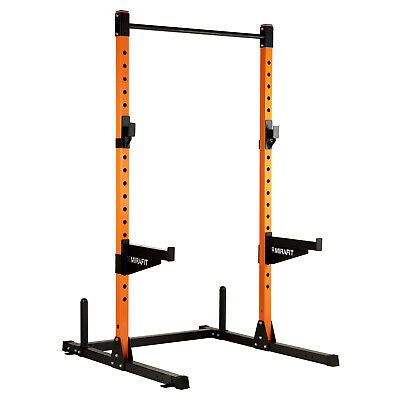 Mirafit M2 Half Power Rack Squat Cage Pull Up/Dip Bar/Weight Lifting SALE #945