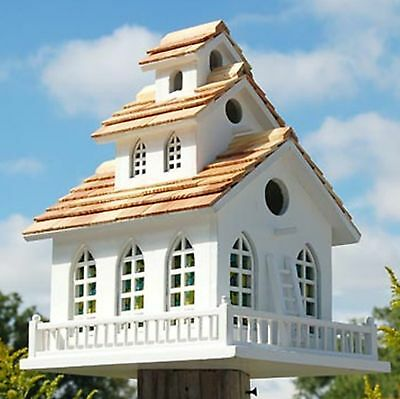Home Bazaar Chapel Bell Bird House 2047 Decorative Bird House