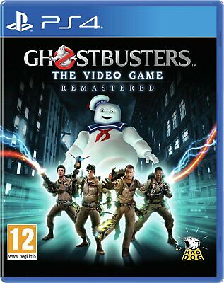 Ghostbusters The Video Game Remastered Sony Playstation PS4 12+ Years