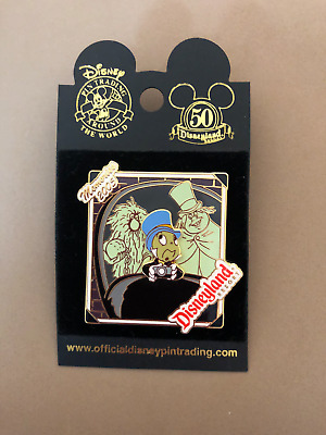 Retired Jiminy Cricket Doom Buggy Ghosts Haunted Mansion Disneyland Pin
