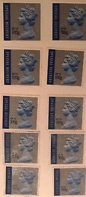 1st Class Next Day £6.60 Signed For Royal Mail Stamps x 10 just £50.00 + p&p