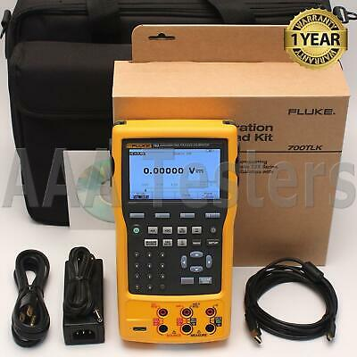 Fluke 753 Documenting Process Calibrator w/ 700TLK Deluxe Test Lead Kit