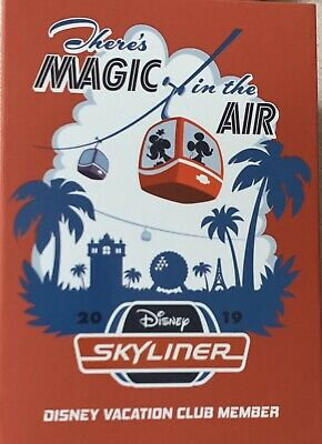 2019 Disney World Parks Skyliner Mickey Mouse DVC Exclusive Magicband Magic Band