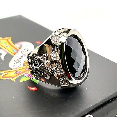 Jewelry & Watches Rings Authentic Ed Hardy Love Kills Slowly