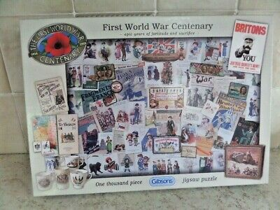 World War One Centenary Jigsaw Puzzle Still Factory Sealed 1000 Pieces Trench