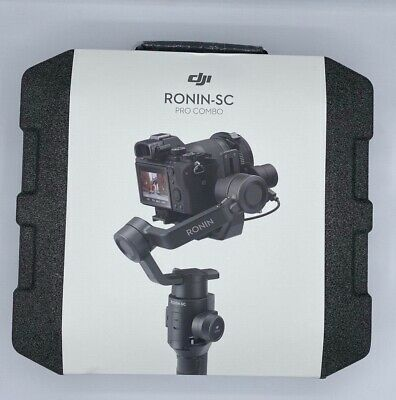 DJI Ronin-SC Pro Combo Handheld 3-axis Stabilizer for Mirrorless Cameras