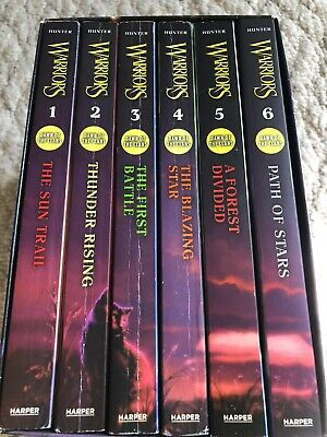 Dawn Of The Claws 6 Books Warrior Cats Book Series By Erin Hunter