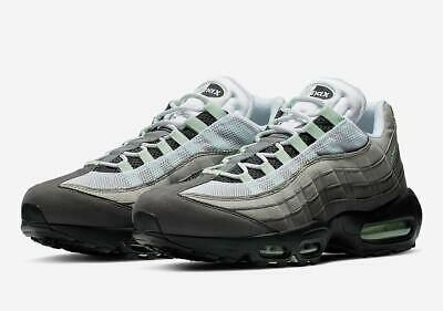2019 Nike Air Max 95 OG SZ 13 White Fresh Mint Granite Dust Grey NRG CD7495-101