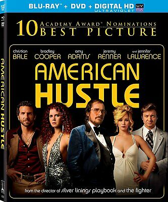 American Hustle Blu-ray/DVD Christian Bale, Amy Adams