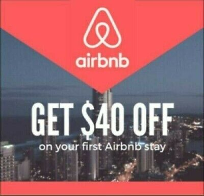 $40 off your first airbnb Booking For Charity Hotel Reservation Discount