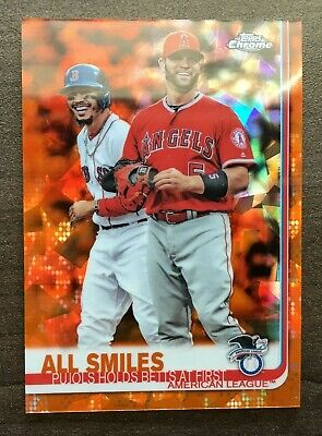 2019 Topps Chrome Sapphire Orange Refractor Parallels #'d/25 ~ Pick your Card