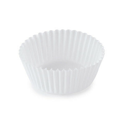 SafePro 4.5-Inch White Paper Baking Cups, 1000-Piece Custodia