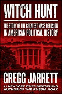 Witch Hunt: The Story of the Greatest Mass Delusion in HARDCOVER 2019 by Greg...