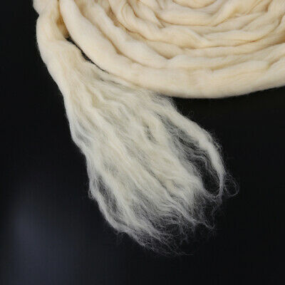 Felting Wool Natural coloured West Aust DreameeTops Roving 200g Spin or Felt