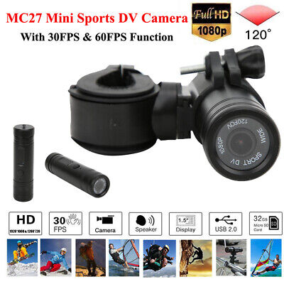 MC27 HD 1080P Action Sports Camera Car Bike Motorcycle Helmet DVR Video Recorder