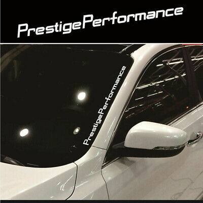 Prestige Performance Graphic Front Windshield Decal Vinyl Car Sport Sticker NfHC