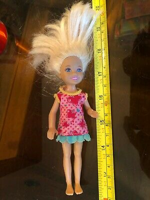 Child Doll Blond 2010 Mattel Barbie Doll Figure Official Original Toy