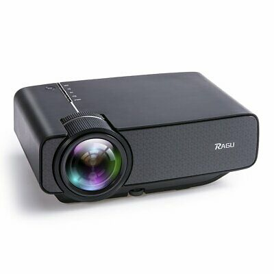 RAGU Z400 Mini Projector, Multimedia Home Theater Video Projector with +21%