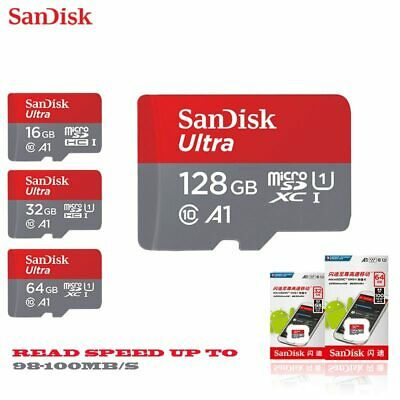 SanDisk micro sd 128GB 64GB 32GB 16GB 98mb/s TF usb flash memory card microsd 8G