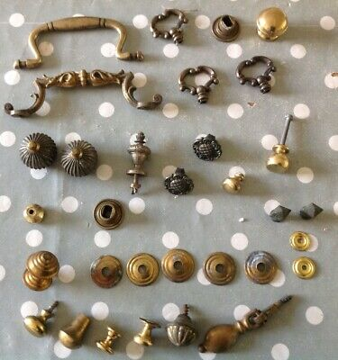 Antique & Vintage Handles And Fittings Finials Furniture And Clock Spare Parts