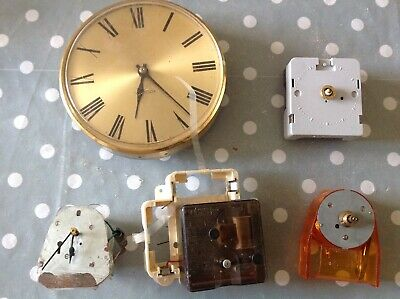 Vintage Electric Clock Movements Untested Ex Specialist Collector