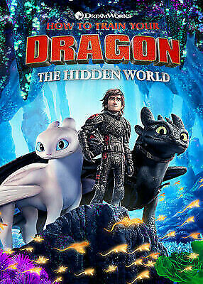 How to Train Your Dragon 3 (DVD) Free Shipping