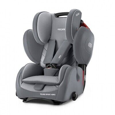 RECARO Kindersitz Young Sport Hero Aluminium Grey