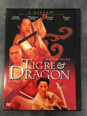 TIGRE ET DRAGON film de ANG LEE avec CHOW YUN FAT et MICHELLE YEOH en DVD Zone 2