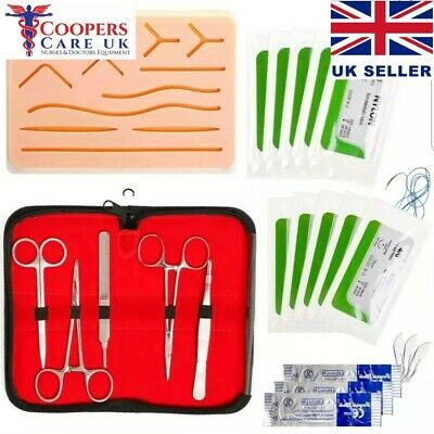 Suture Practice Training Kit Medical Silicone Suturing Pad | Coopers Care UK