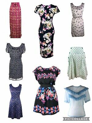 New Look River Island Warehouse Bundle Of 16 Tops Dresses Jumpers Skirt, Size 14