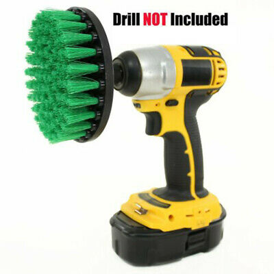 Power Drill Brush Bristle Scrubber Cleaning Disc For Carpets Tiles Floor Mats