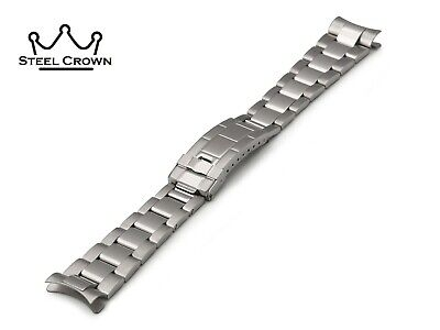 20mm For Rolex Watch Stainless Steel Bracelet Strap Band Silver Submariner GMT
