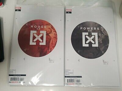 House Of X #1 & Powers of X #1 (2019) Marvel NM/NM- 4th Print Variant Set