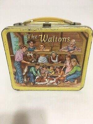 1973 Aladdin metal lunchbox ~ THE WALTONS