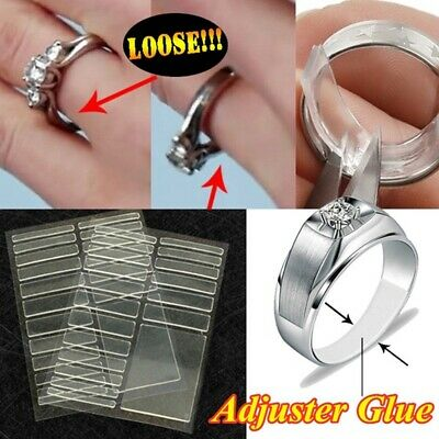 Adjuster Tighteners Invisible Ring Size Reducer Adjuster Pad Set Resizing Tools