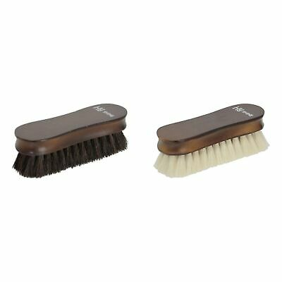 HyShine Deluxe Wooden Face Brush with Goats Hair White 13404
