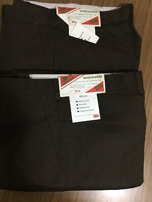 Pack of 2- JD UNIFORMS Work Pant Polyviscose Brown Size 81L RRP $40 Aussie Made